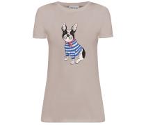 T-Shirt camel / mischfarben
