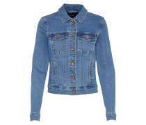 Jeansjacke 'hot Soya' blue denim