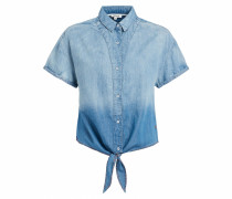 Bluse 'Luna' blue denim