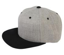 Cap 'Classic Snapback' grau / schwarz