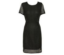 Kleid 'Lace Pannelled' schwarz