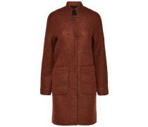 Mantel dunkelorange