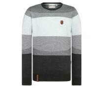 Pullover grau / mint