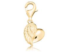 Charms-Einhänger 'Herzflügel Erc-Heartwing-G'