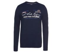 Pullover ultramarinblau / weiß