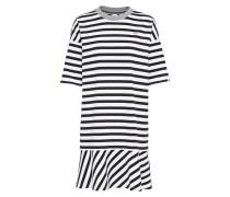 Minikleid schwarz / weiß