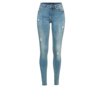 Skinny Jeans 'pcfive Delly 3.0 F115 MW SKN Lb/noos'