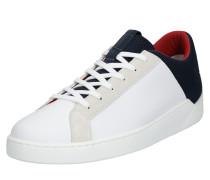 Sneaker 'mullet' weiß / navy