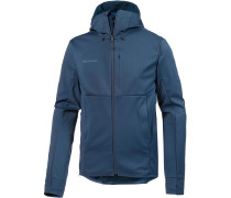 'Ultimate V' Softshelljacke blau