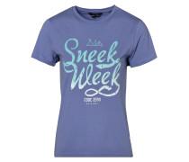 T-Shirt Sneekweek T-Shirt blau