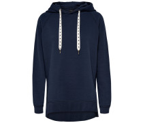 Lockeres Sweatshirt blau