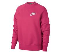 Sweatshirt 'Rally' pink / weiß