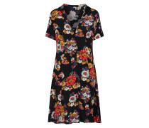 Kleid 'Jifelo' mischfarben / schwarz