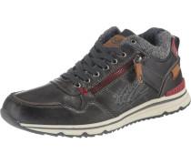 Sneakers High enzian / feuerrot