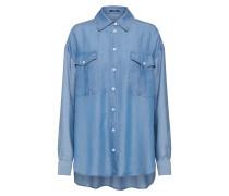Bluse 'trek Shirt Tzt' blau