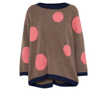 Pullover 'redbluff' navy / braun / pink