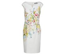 Kleid mischfarben / weiß