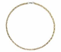 Gliederkette gold / silber