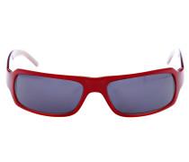 Sonnenbrille Laid Back rot / schwarz