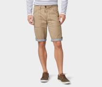 Bermuda Shorts dunkelbeige