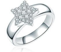 Ring 'Stern' silber