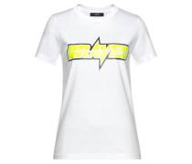 T-Shirt 'Sily' weiß