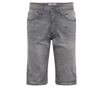 Jeans 'Denim Shorts Twister Slim' grey denim