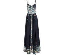 Kleid 'velona' blau / hellblau / weiß