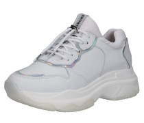 Sneaker 'Baisley' hellgrau / weiß