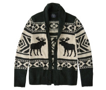 Strickjacke 'moose Shawl Cardigan'