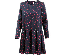 Enda Bubble Dots Langarmkleid