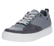 Sneaker 'danny' stone / hellgrau / weiß