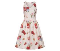 Kleid rosa / rot