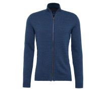 Strickjacke blue denim
