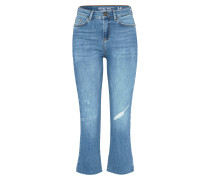 'nmroxan' Flared Jeans blue denim