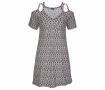 Kleid mischfarben / schwarz