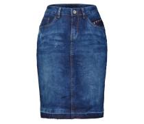 Rock 'Patched denim Skirt' blue denim