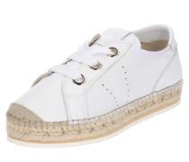 Sneaker 'nate' weiß