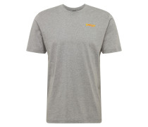Sport-Shirt 'iridium' grau