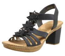 Sandaletten nachtblau / hellbraun