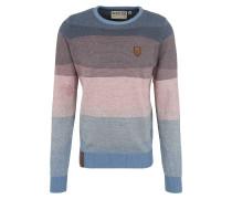 Pullover hellblau / rosa
