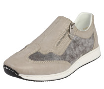 Slipper 'Zip' taupe