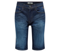 Jeans 'Denim Shorts Twister Slim' dunkelblau