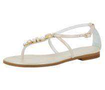 Sandale 'olimpia' perlweiß