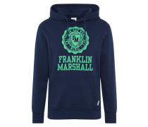 Sweatshirt grün / nachtblau