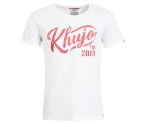 Shirt ' Tagos ' rot / weiß