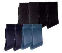 Socken blau / grau / schwarz