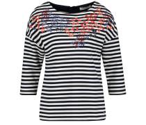 T-Shirt mischfarben / schwarz / weiß