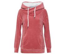Sweatshirt rosa / weiß