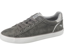 Sneaker dunkelgrau / silber